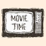 Tiempo de película Imagen de archivo