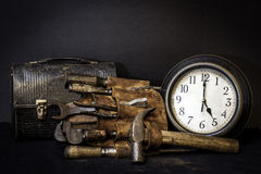 Tiempo de Quittin Fotografía de archivo libre de regalías