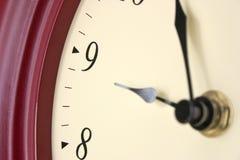 Tiempo de reloj fotos de archivo