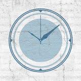 Tiempo de reloj Imágenes de archivo libres de regalías