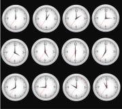 Tiempo de relojes Imagen de archivo
