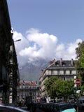 Tiempo de resorte en Grenoble 1 Imagenes de archivo