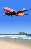 Tiempo de vacaciones, jet Imagen de archivo libre de regalías