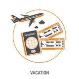 Tiempo de vacaciones y concepto del turismo Foto de archivo libre de regalías