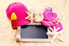 ¡Tiempo de verano! Imagen de archivo