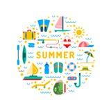 Tiempo de verano 01 Fotos de archivo