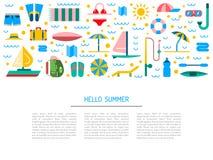 Tiempo de verano 01 Fotografía de archivo libre de regalías