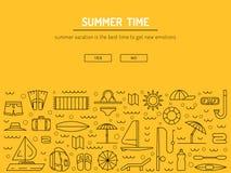 Tiempo de verano 01 Imagen de archivo libre de regalías