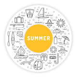 Tiempo de verano 01 Foto de archivo