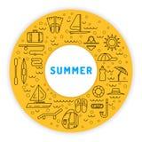 Tiempo de verano 01 Imágenes de archivo libres de regalías