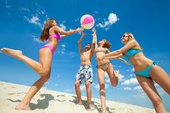 Tiempo de verano de la diversión Imágenes de archivo libres de regalías