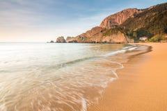 Tiempo de verano en el país basque Fotos de archivo