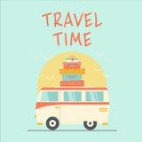 Tiempo de viaje retro Fotografía de archivo libre de regalías