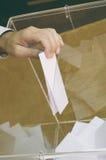 Tiempo de votación, tiempo de la elección Foto de archivo libre de regalías