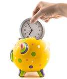 Tiempo del ahorro Fotografía de archivo libre de regalías