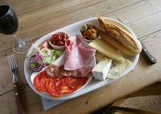 Tiempo del almuerzo Foto de archivo