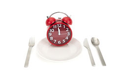 Tiempo del almuerzo Imagenes de archivo