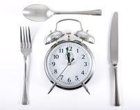 Tiempo del almuerzo imagen de archivo