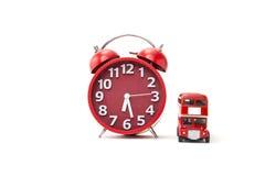 Tiempo del autobús Foto de archivo libre de regalías
