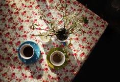 Tiempo del café Fotos de archivo libres de regalías