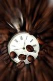 Tiempo del café Foto de archivo