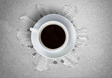 Tiempo del café Fotos de archivo