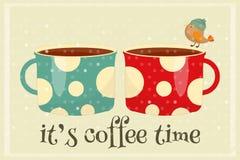 Tiempo del café Imagenes de archivo