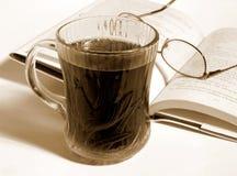 Tiempo del café Foto de archivo libre de regalías