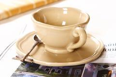 Tiempo del café? de la relajación foto de archivo