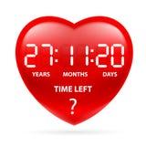 Tiempo del corazón Foto de archivo