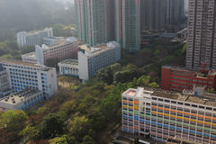 tiempo del día del tseung O kwan, Hong-Kong Imagenes de archivo