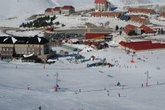 Tiempo del esquí Imagenes de archivo