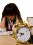 Tiempo del examen Imagen de archivo libre de regalías