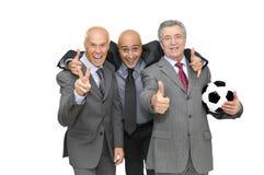 Tiempo del fútbol Fotos de archivo libres de regalías