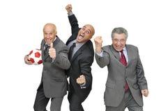 Tiempo del fútbol Foto de archivo