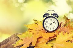 Tiempo del horario de verano Imagen de archivo