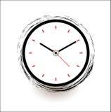 Tiempo del icono del vector del reloj