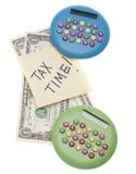 Tiempo del impuesto Imagenes de archivo