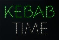 tiempo del kebab Fotos de archivo libres de regalías