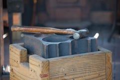 Tiempo del martillo imagen de archivo libre de regalías
