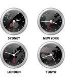 Tiempo del mundo stock de ilustración
