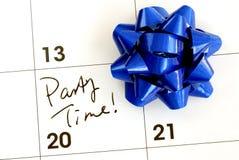 Tiempo del partido Imagen de archivo libre de regalías