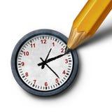 Tiempo del planeamiento stock de ilustración