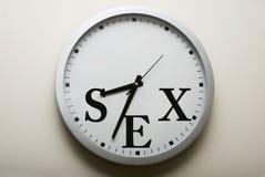 Tiempo del sexo Foto de archivo libre de regalías