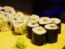 Tiempo del sushi Imagenes de archivo