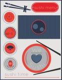 Tiempo del sushi Fotos de archivo libres de regalías