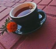 Tiempo del té foto de archivo libre de regalías