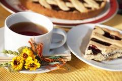 Tiempo del té Imagen de archivo libre de regalías
