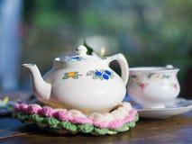 Tiempo del té Imágenes de archivo libres de regalías