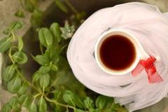 Tiempo del té de tarde Imagenes de archivo